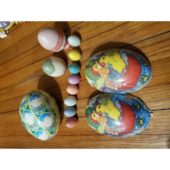 Vintage Easter Eggs Assortment
